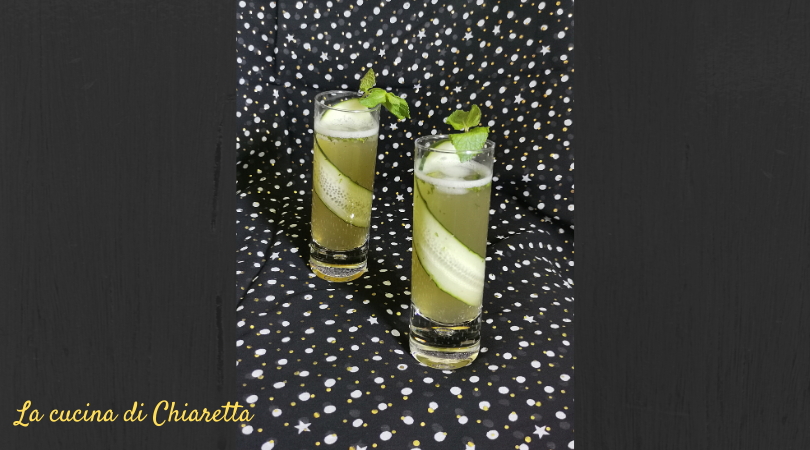 cocktail aloe e cetriolo