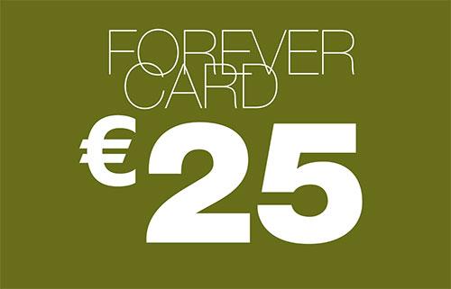 card forever 25